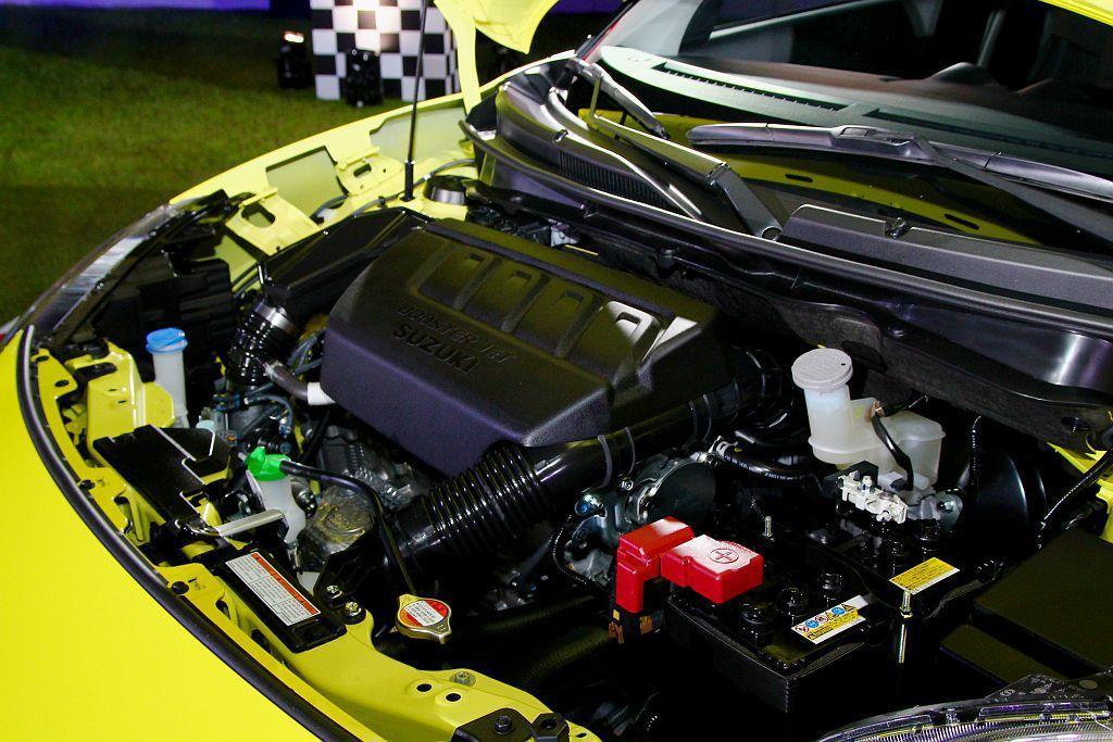 1.4L Boosterjet渦輪增壓引擎,可爆發140ps最大馬力及23.5k...