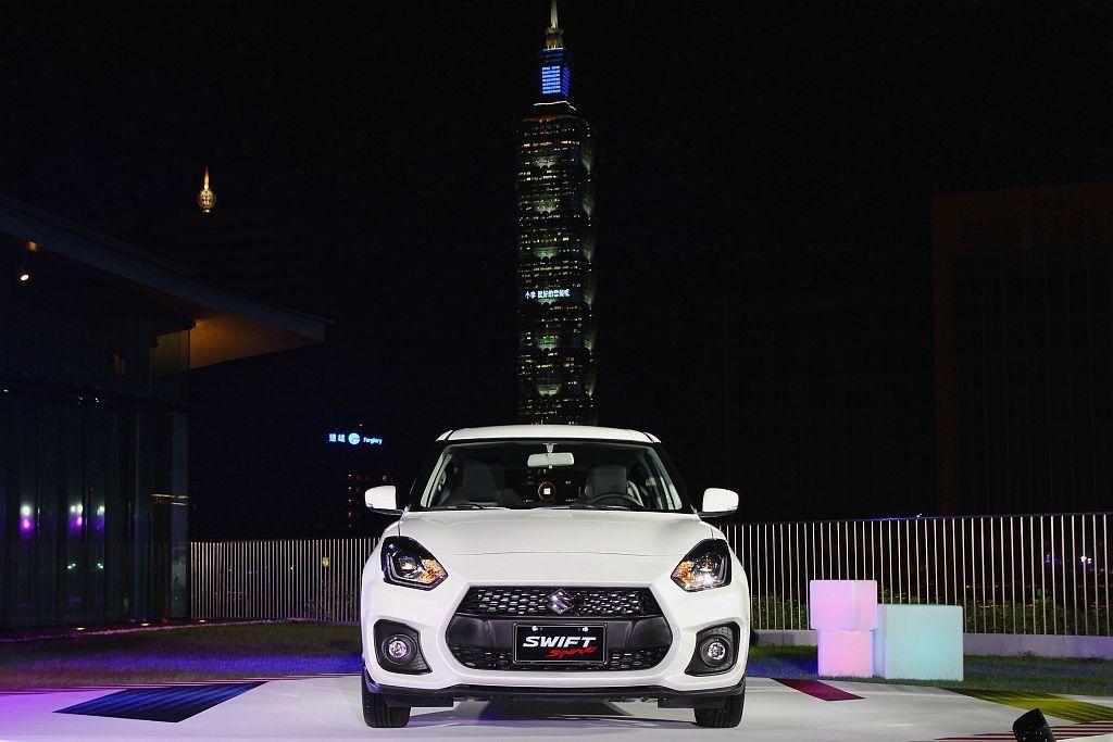 新Suzuki Swift Sport在台灣市場Fun Car選項中,是唯一百萬...