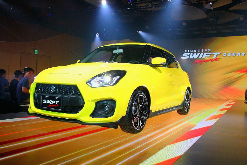 全新Suzuki Swift Sport正式在台發表。 記者張振群/攝影