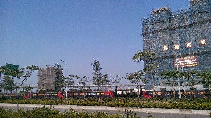 網友表示大園有許多新建案(示意圖) 圖片來源/聯合報系