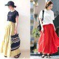 跟著日本女生創造夏天的印象感 品味出眾靠的就是棉麻色裙