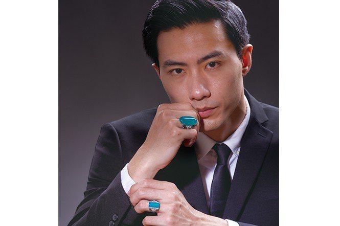 台灣藍寶鑽戒。(靓睛晶)