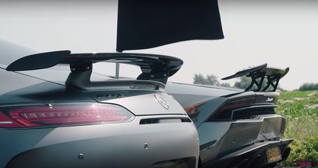 (影音)Mercedes-AMG GT R挑戰Lamborghini Huracan超跑!