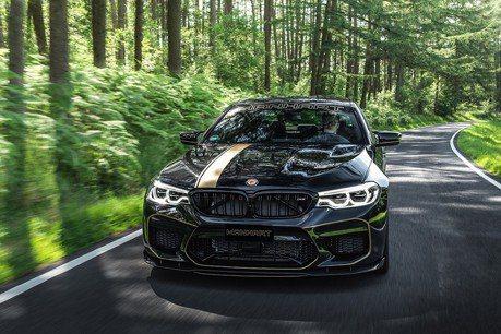 (影音) 帥到瞠目結舌 BMW M5變身更猛的Manhart MH5 700!