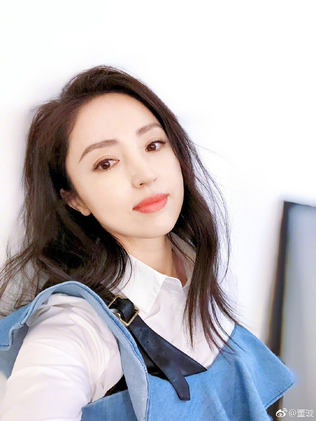 高雲翔的妻子董璇。圖/摘自微博