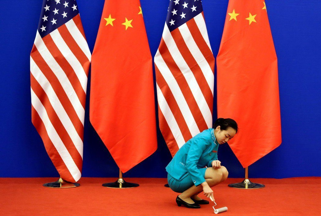 美中貿易戰6日開打,雙方嚴陣以待。 路透