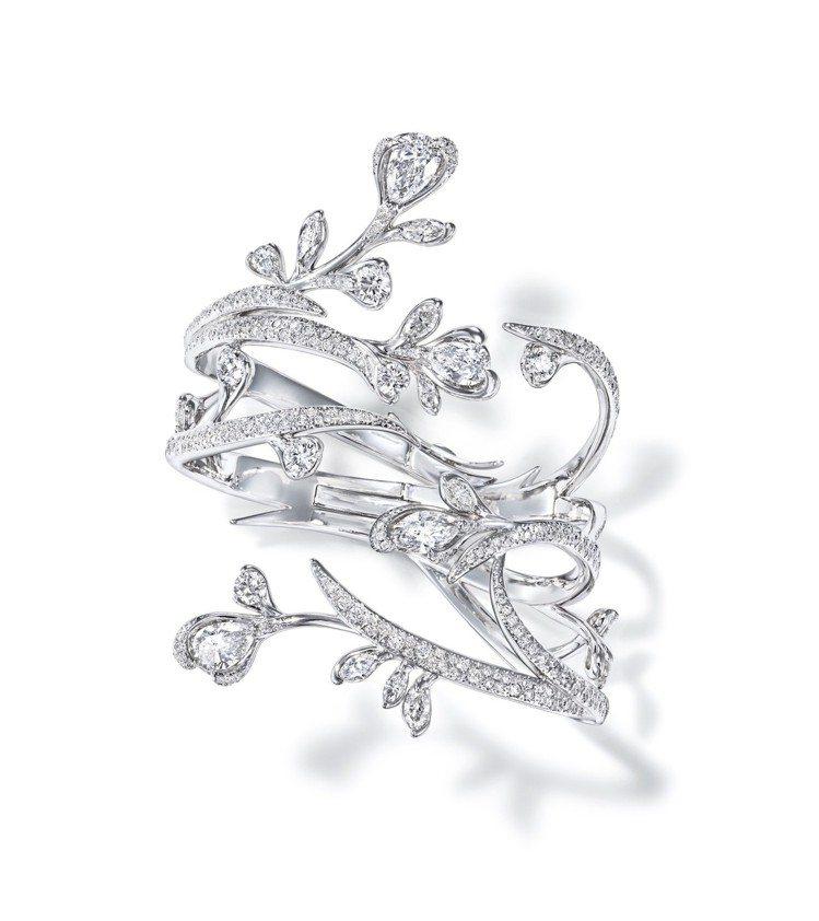 RITZ PARIS par TASAKI Lueur du jour鑽石鉑金手...