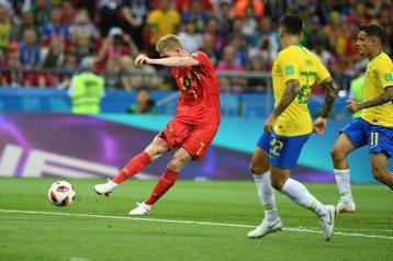 見巴西被反擊破網有既視感 日本後衛挺比利時世足奪冠