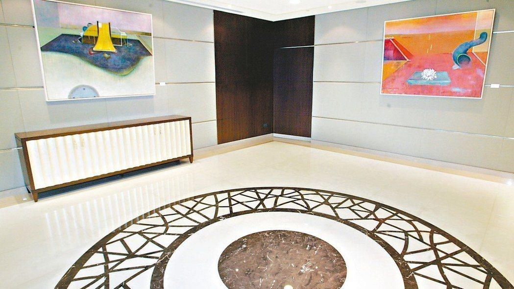 台北富邦銀行私人銀行服務中心,以優雅奢華的空間著稱。 本報系資料庫