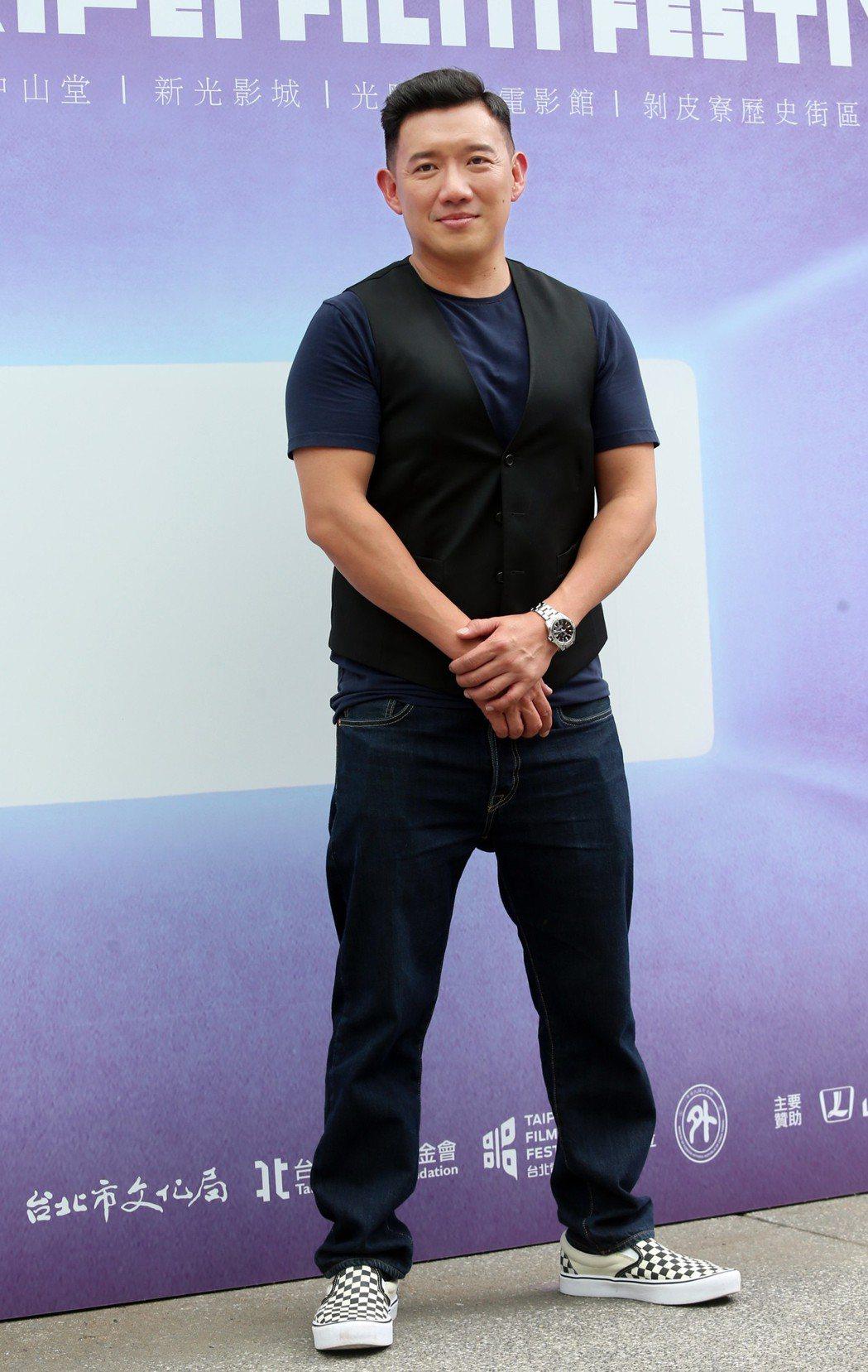 杜汶澤7日出席2018台北電影獎評審記者會。聯合報系記者徐兆玄/攝影