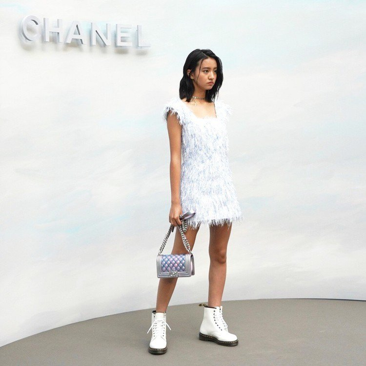 木村光希人生第一場時裝秀獻給香奈兒,頗受好評。圖/擷自instagram