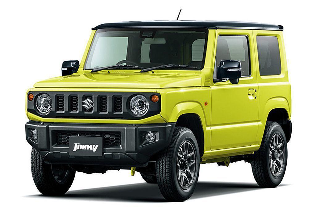 新Suzuki Jimny車身尺碼為3395x1475x1725mm、軸距2250mm,屬於日本K Car規範的車款。 圖/Suzuki提供