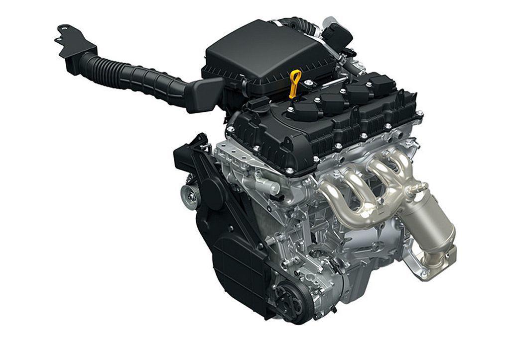 全新開發的1.5L直列四缸自然進氣汽油引擎,最大馬力為102ps、峰值扭力13.3kgm,預計會是未來海外市場銷售的動力規格。 圖/Suzuki提供