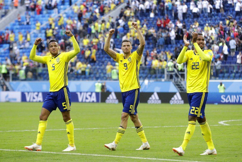 瑞典防守出色,英格蘭恐怕討不到太大便宜。 美聯社