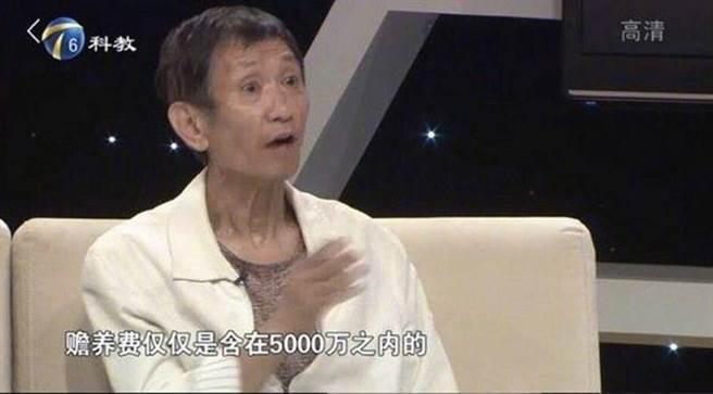 王老先生被起底疑似是女星毛曉彤的父親。圖/摘自微博