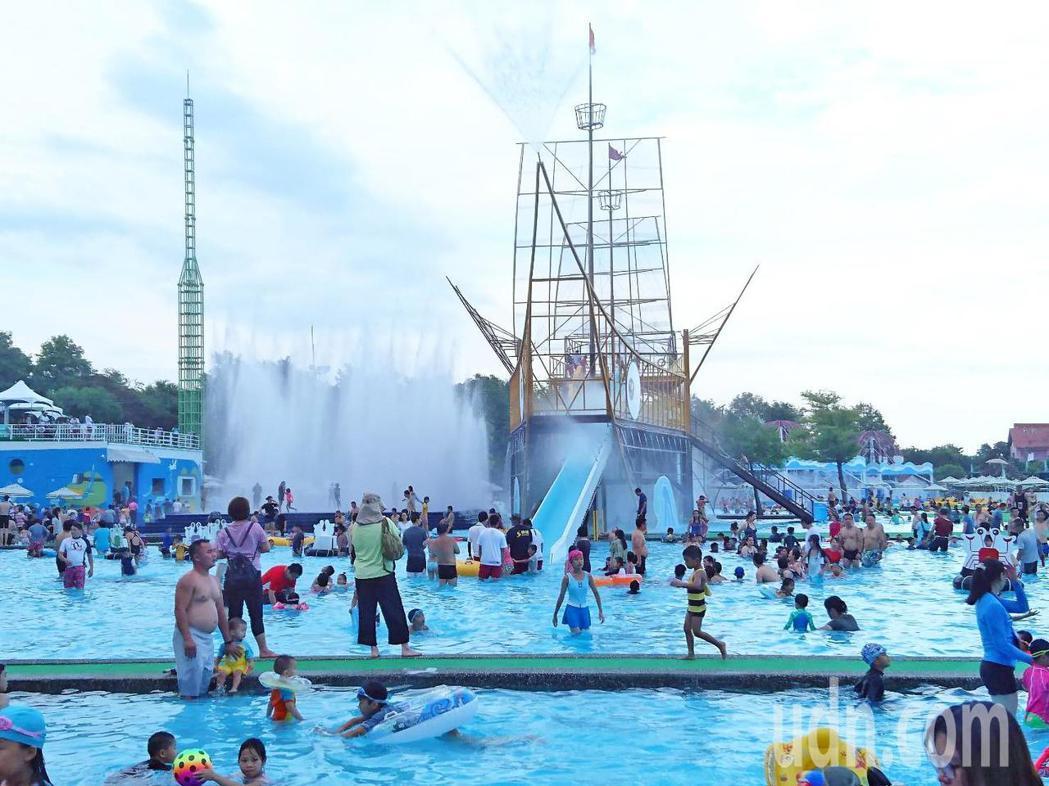 宜蘭童玩節今天開幕。記者羅建旺/攝影
