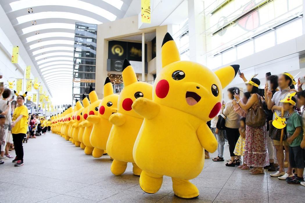 皮卡丘大量發生中活動,今年將於8月10日於橫濱登場。圖/取自日本橫濱觀光信息粉絲...