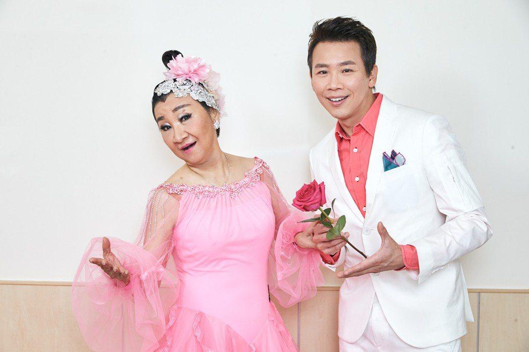 陶喆和母親陶王復蓉一起參加「2018CTC世界盃國際標準舞公開賽」,一起以表演嘉...