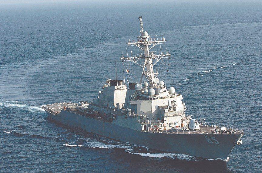 國防部主動發布新聞稿表示,美國DDG-89及DDG-65兩艘飛彈驅逐艦,7日上午...
