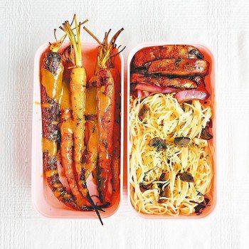 香蒜蘑菇炒義大利麵 圖/李星瑤