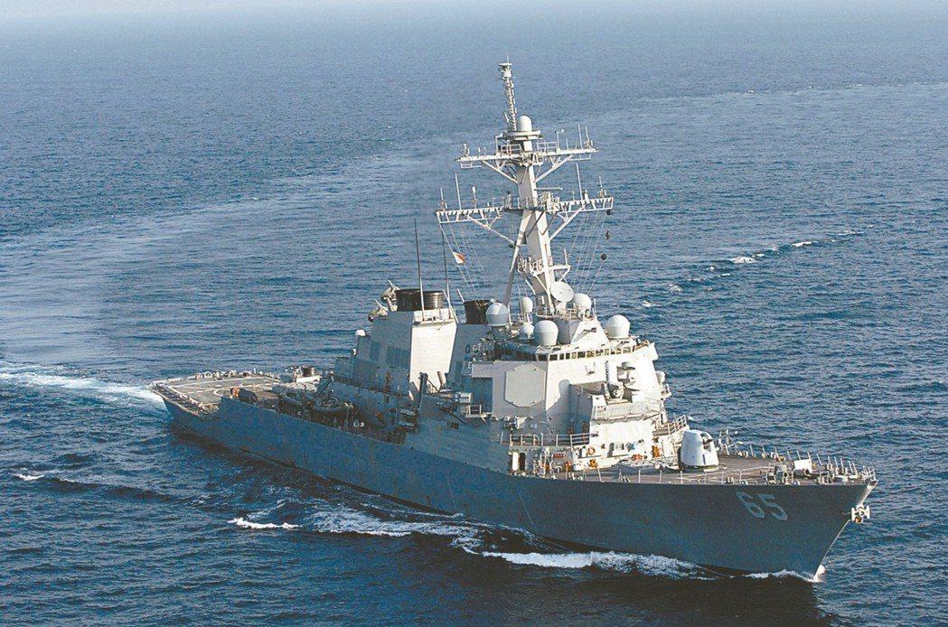 美2艘驅逐艦 通過台灣海峽 知情人士解讀…
