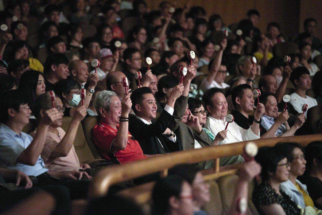 竹塹國樂節演出,聴眾直呼「太好聽了」。  記者郭宣彣/攝影