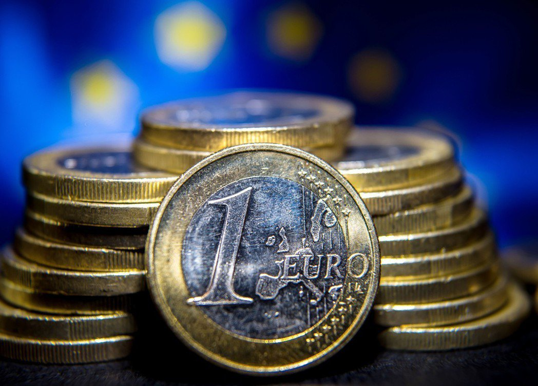 歐元。 報系資料照片