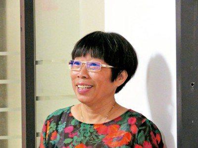 中老年淘寶體驗師劉豔萍。 特派記者林則宏/攝影