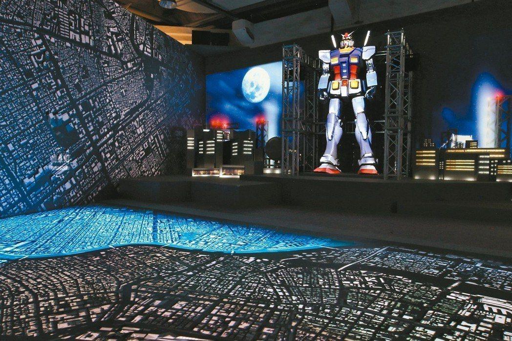 光影東京!360度夢幻視覺系特展。 聯合數位文創/提供