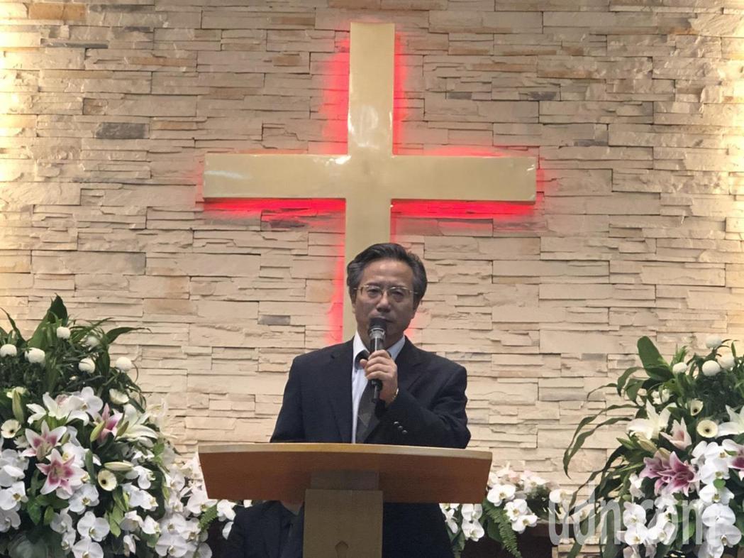 嘉義基督教醫院院長姚維仁說「川雄老師這齣人生大戲謝幕了,但影響力永遠都在」。記者...