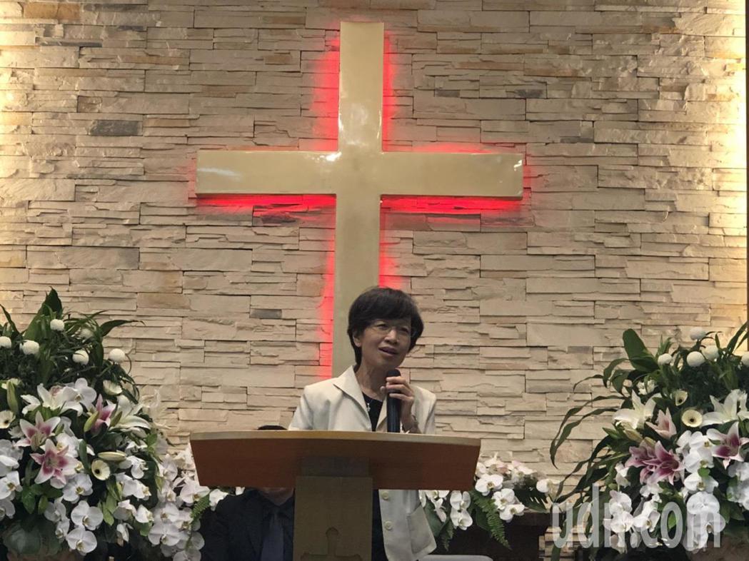 蕭惠香牧師回憶最後一次探視鄒川雄時,笑虧「你還在啊」,鄒明白「回天家是最終的道路...