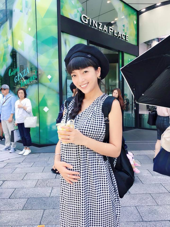 貝童彤懷孕4個月。圖/摘自貝童彤臉書
