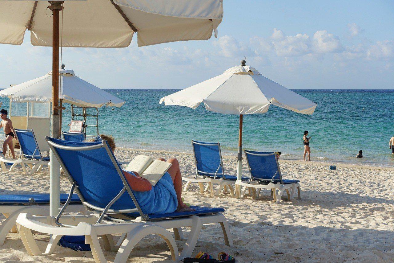 Club Med石垣島吸引各國遊客來此度假。記者沈佩臻/攝影