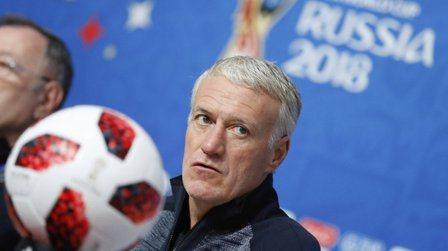 法國總教練德尚可能成為以球員和教練身份都曾贏得世足冠軍的贏家。 路透