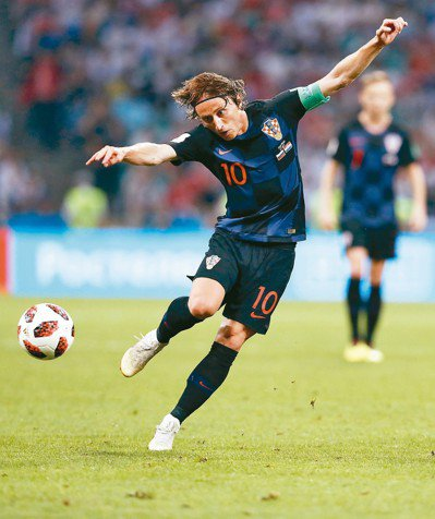 莫德里奇(Luka Modric)。 美聯社