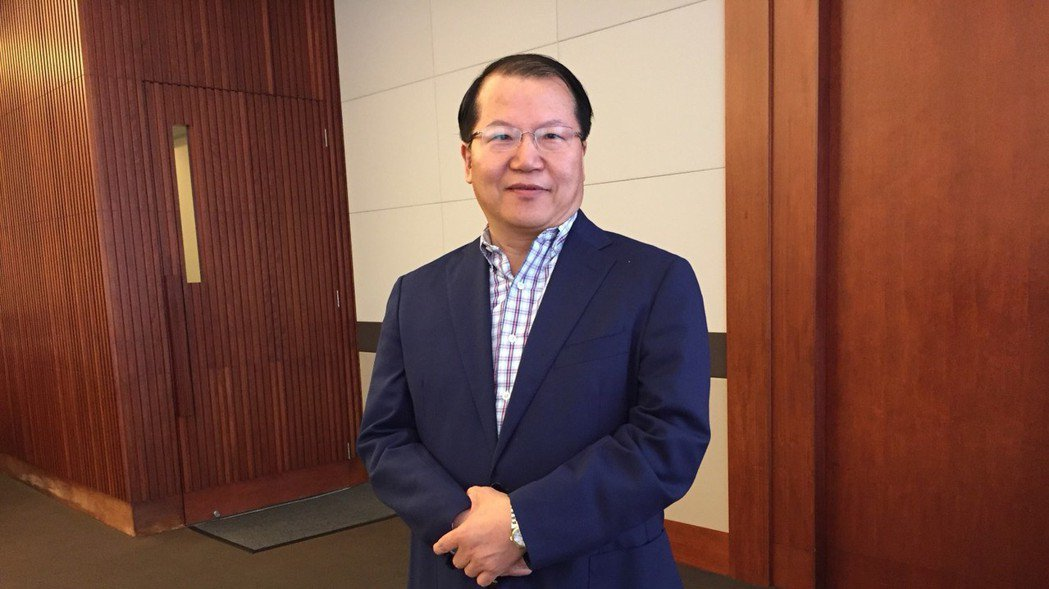 廣越企業總經理吳朝筆,樂觀看待今年毛利率及整體獲利。蘇璽文/攝影