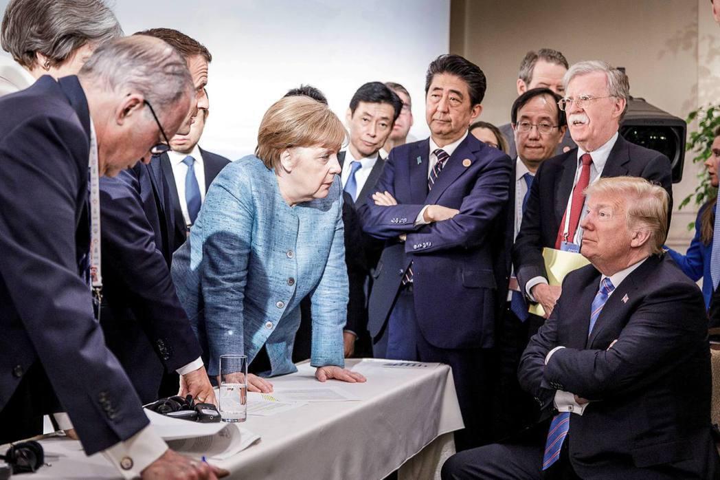 美國開始站在歐盟利益的對立面。 圖/路透社