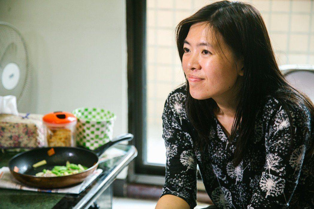 「灶神在家」計畫發起人曾曉薇。記者吳姿瑩/攝影