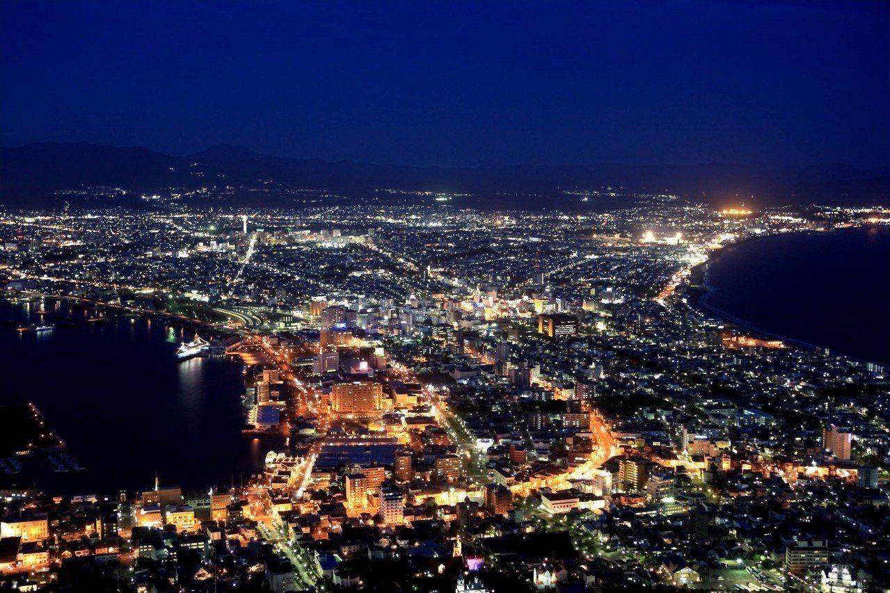 函館市|函館山。 圖/cielo-ayato.doorblog.jp
