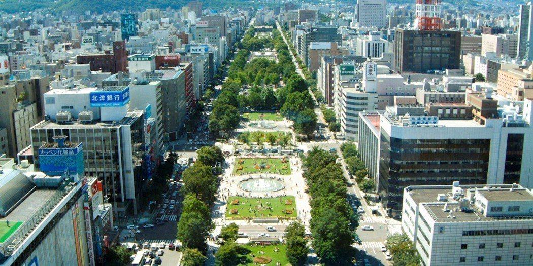札幌市|大通公園。 圖/官網