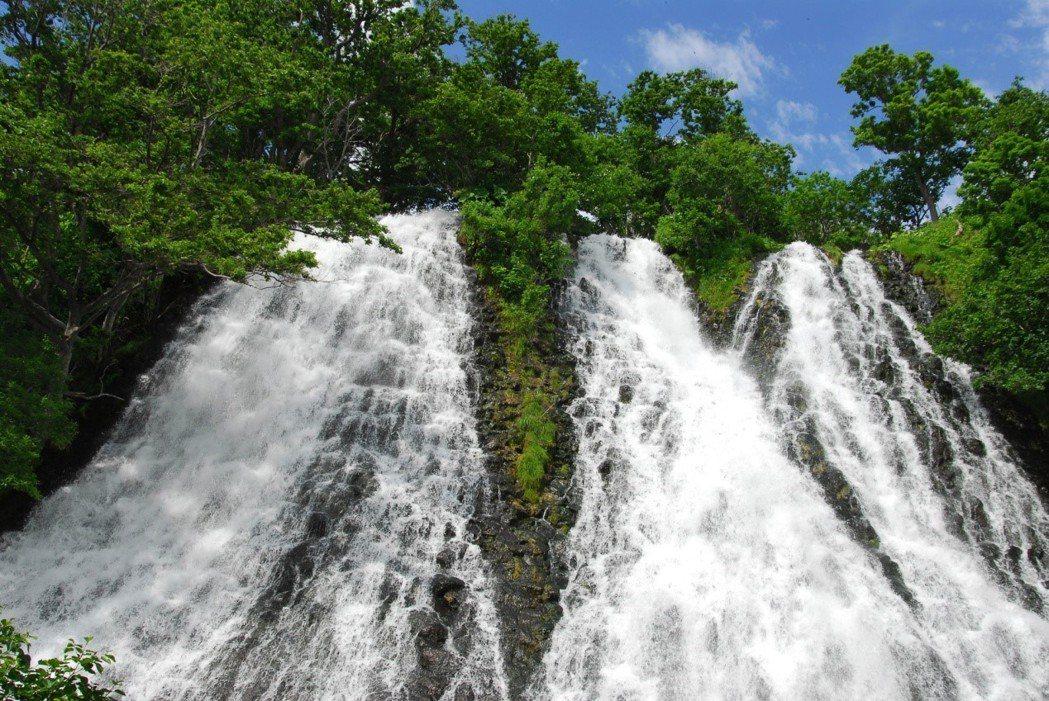 里群斜里町|オシンコシンの滝。 圖/fiscalia.org