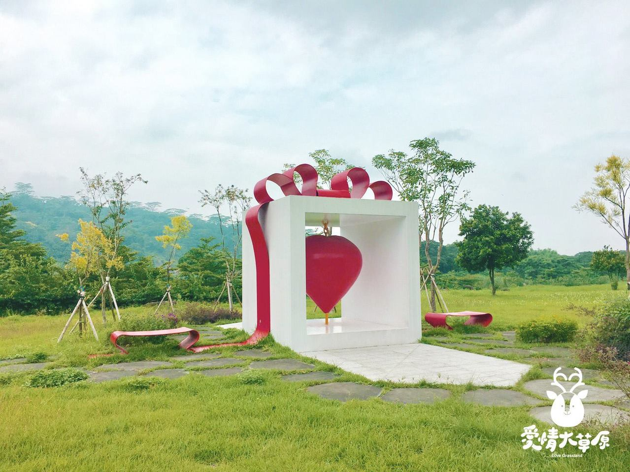 ▲阿里山旅遊景點-旺萊愛情草原。(圖/旺萊山官方FB)