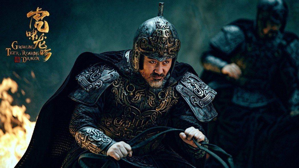 吳秀波監製、主演「軍師聯盟2虎嘯龍吟」。圖/中視提供