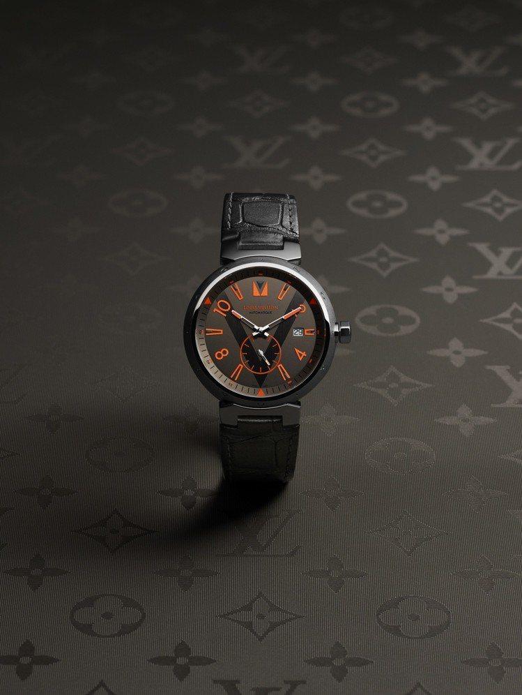 路易威登Tambour Grey Titanium腕表,不含表帶約14萬9,00...