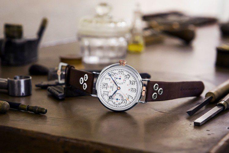 歐米茄賦予塵封倉庫中許久的骨董機芯新生命,打造首創款限量版腕表,一共18只。圖/...