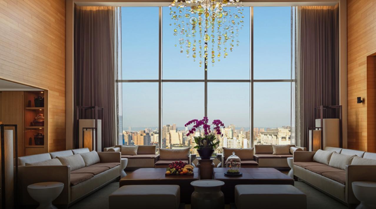 席琳狄翁此次來台下榻台北晶華酒店總統套房。圖/摘自晶華酒店官網