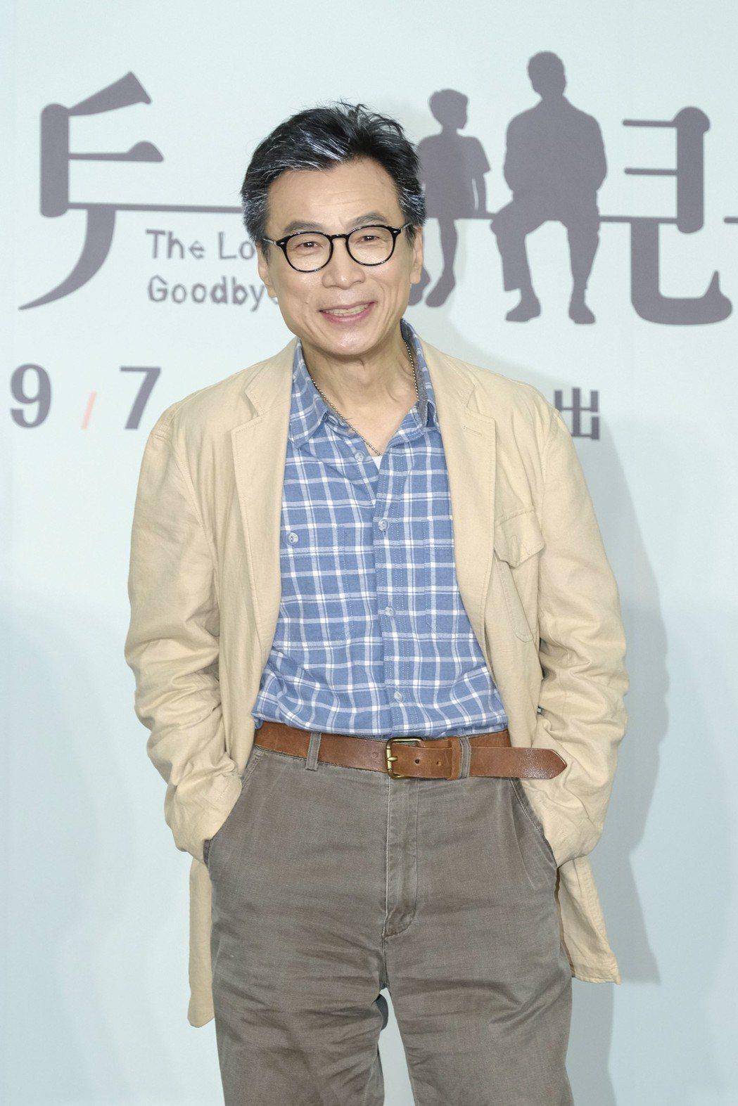 李天柱暌違3年演出舞台劇「小兒子」,戲裡當失智爸。圖/故事工廠提供