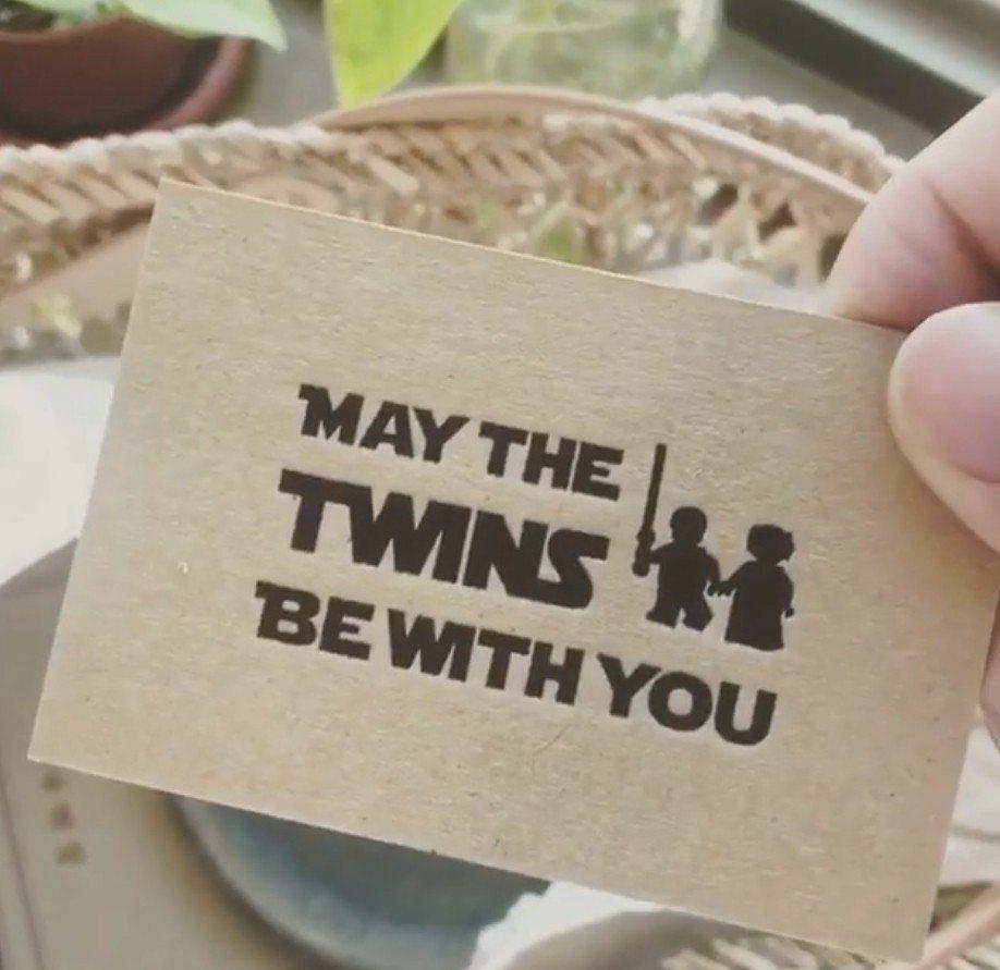 瑪莎跟老婆Vicky發送Luke、Leia的彌月禮盒。圖/摘自IG