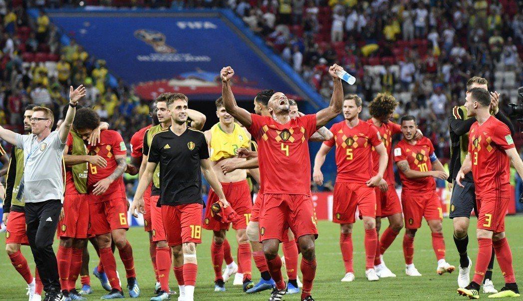 比利時隊挺進四強,接下來對上法國,還有機會闖進冠軍戰? (新華社)