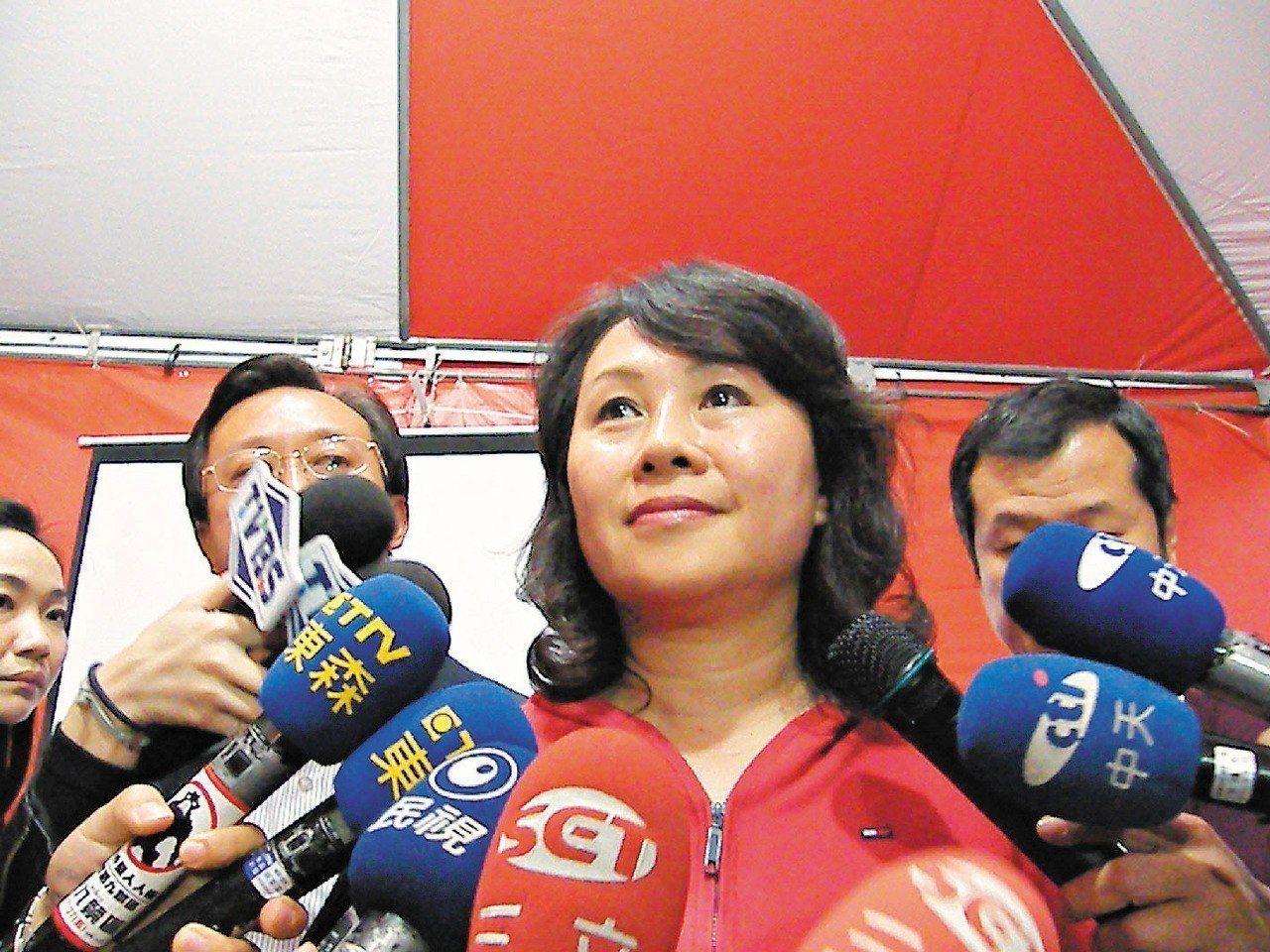 前台東縣長鄺麗貞。 圖/聯合報系資料照片